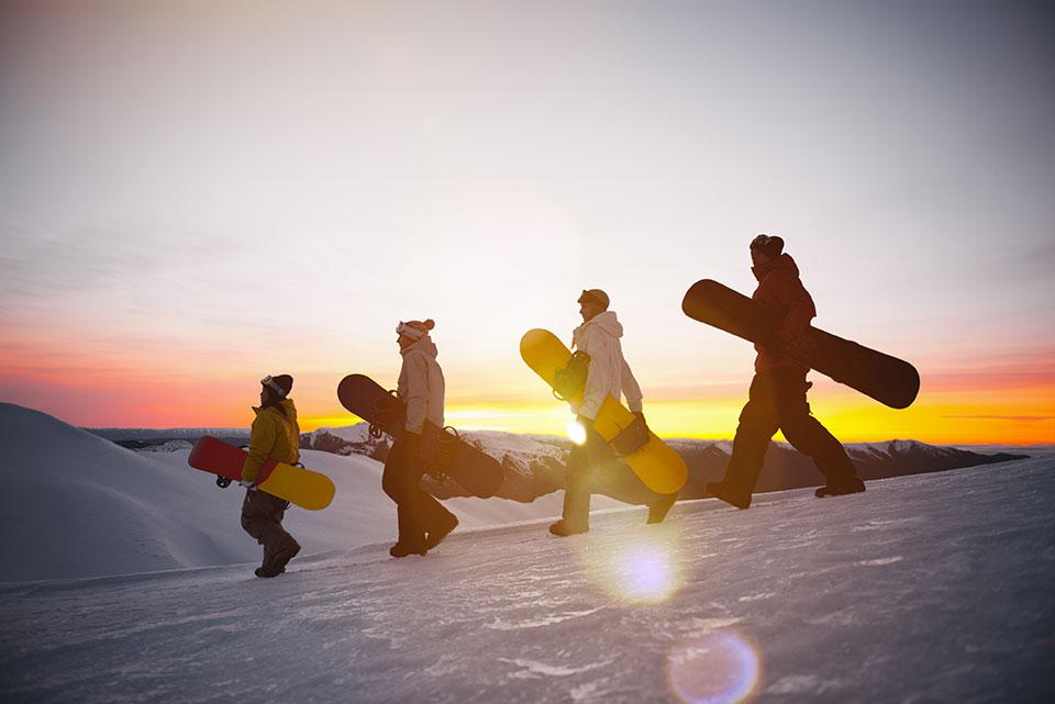 snowboard in etna sicily