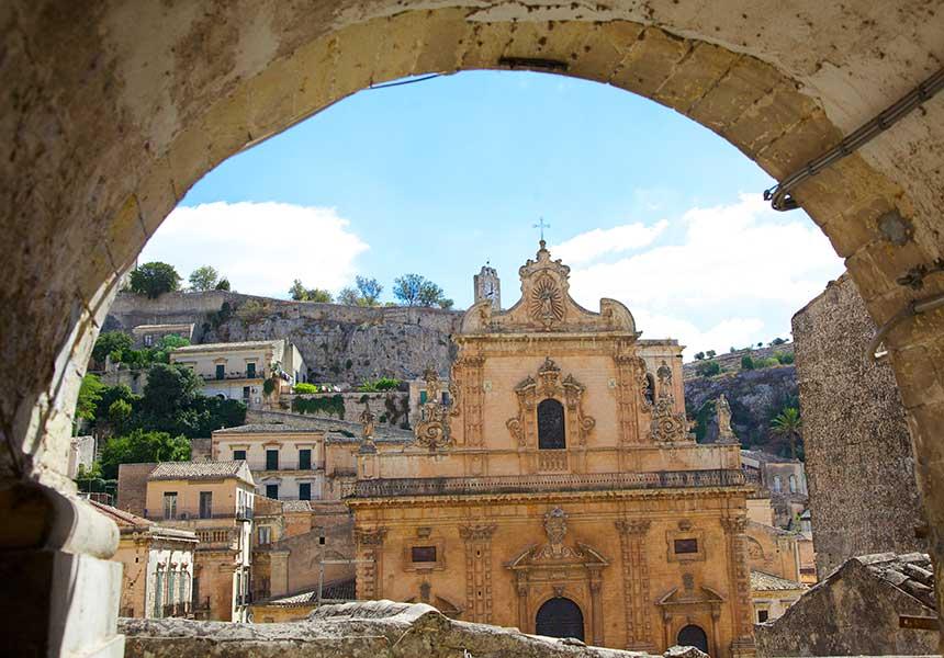 Church in Modica - Sicily