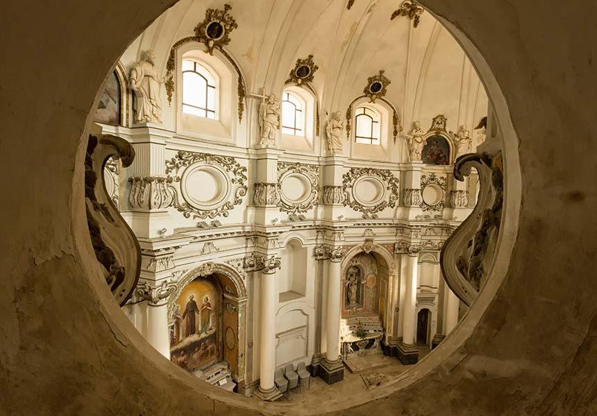 Beautiful church in Noto
