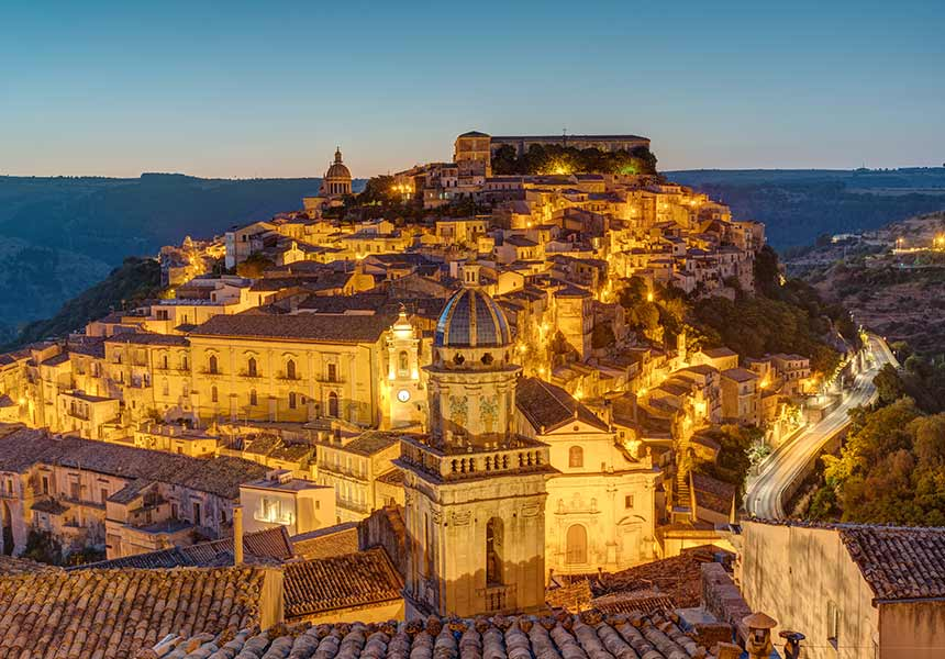 City of Modica - Sicily
