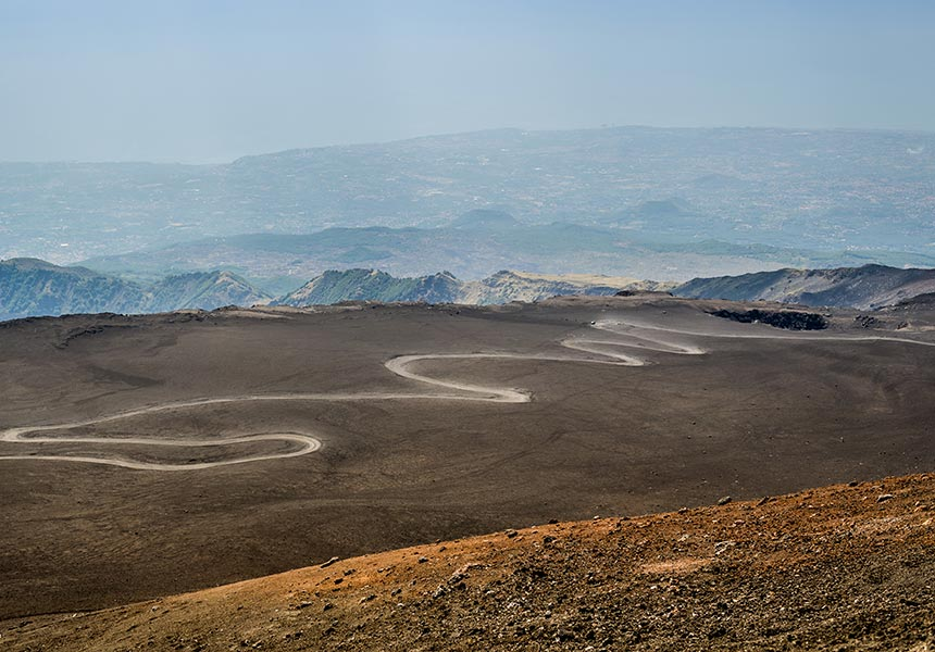 Etna path to craters