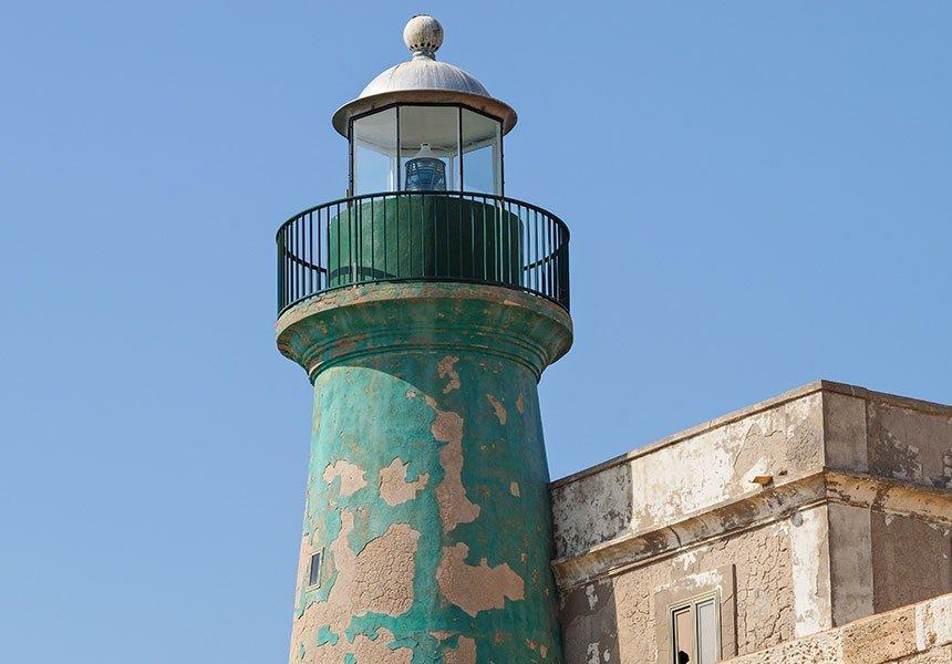 Ortigia's lighthouse