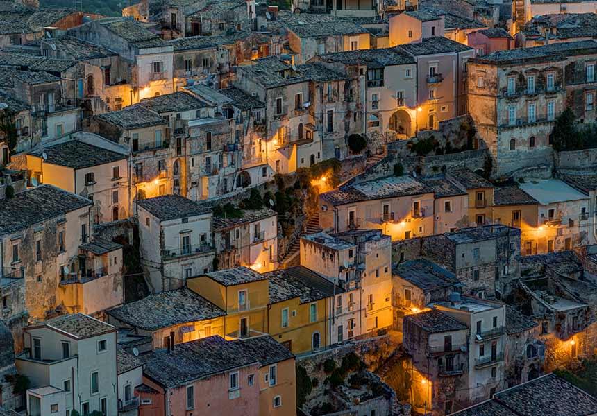 Old city of Modica - Sicily