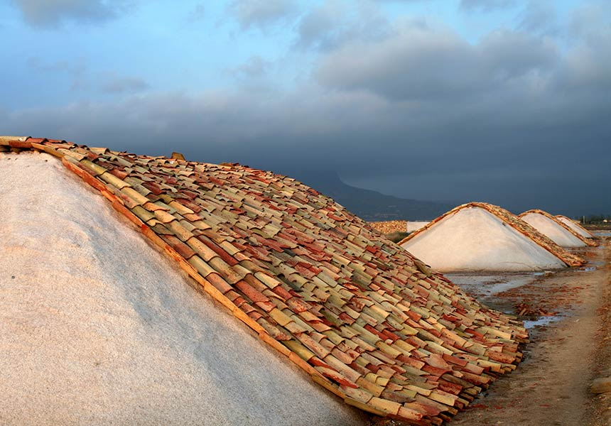 Saltworks on Trapani