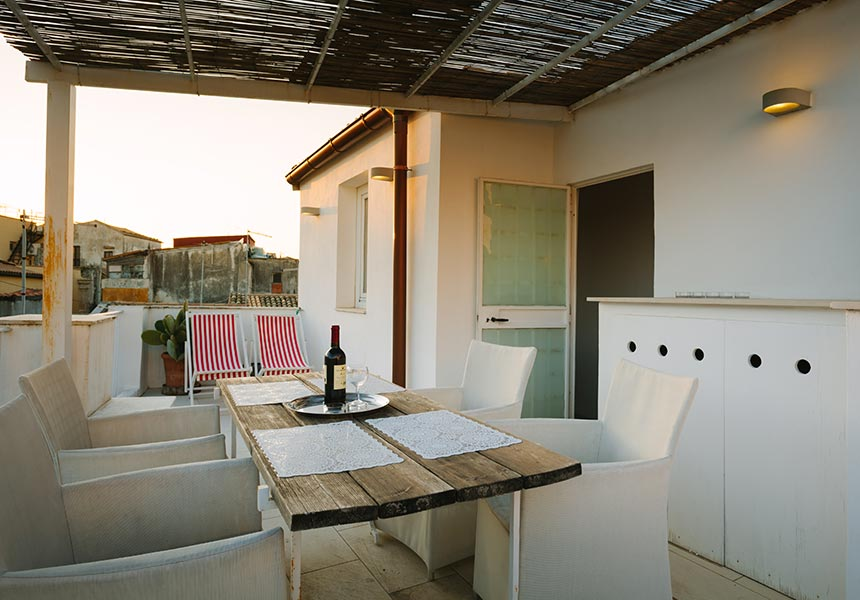 Casa Melli terrace