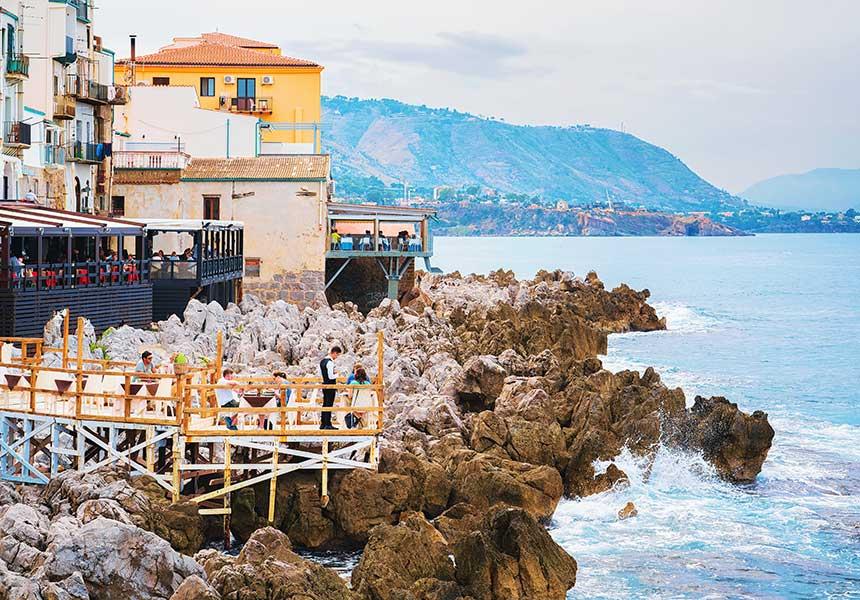 Sea view on Cefalù - Palermo - Sicily