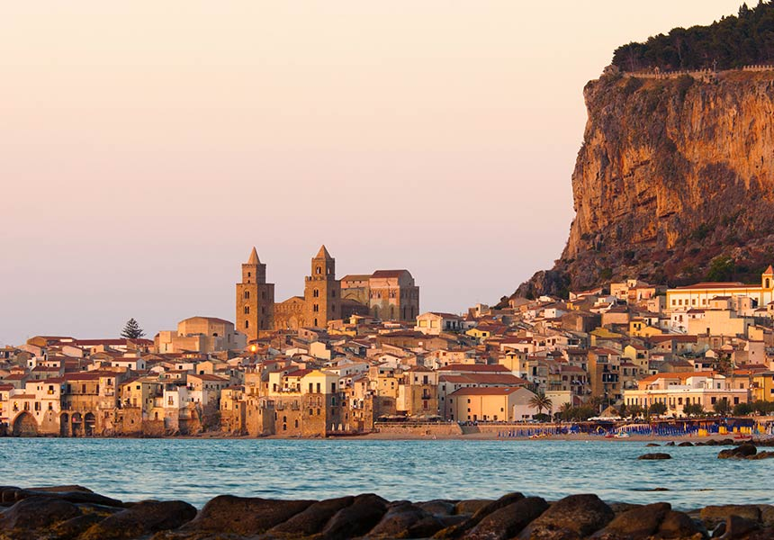 Town view on Cefalù - Palermo - Sicily