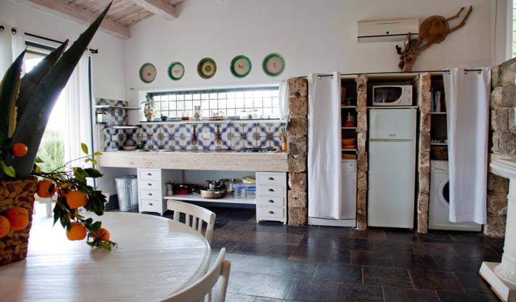 Villa Il Mandorlo kitchen