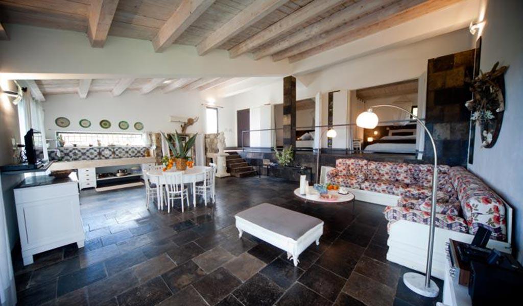 Villa Il Mandorlo living