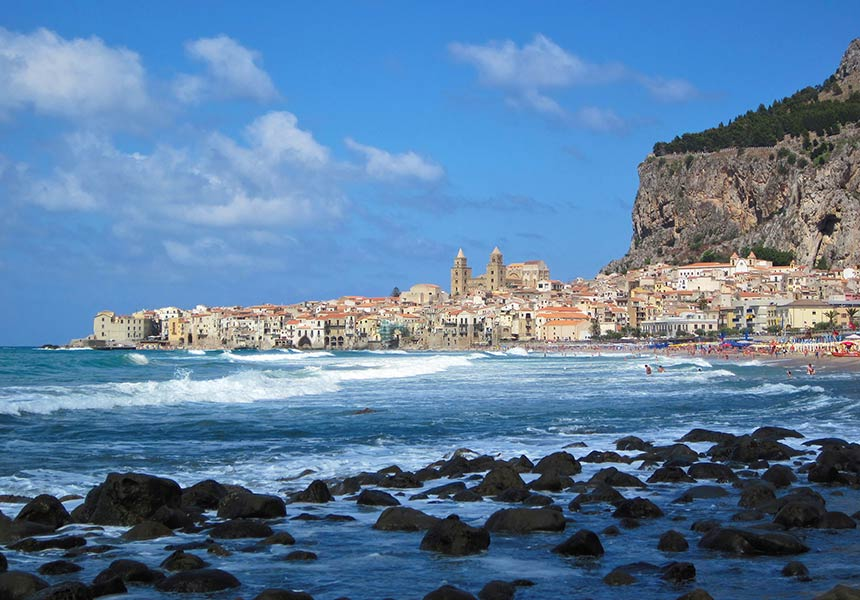 Sea view on Cefalù - Palermo - Sicily
