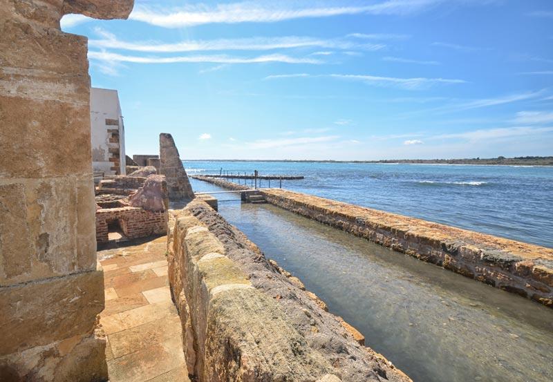 Beautifull sea of Vendicari Sicily