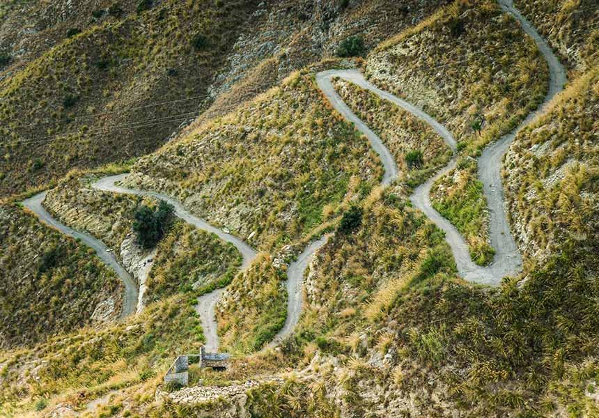 Road to Taormina