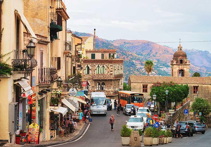 Street of Taormina