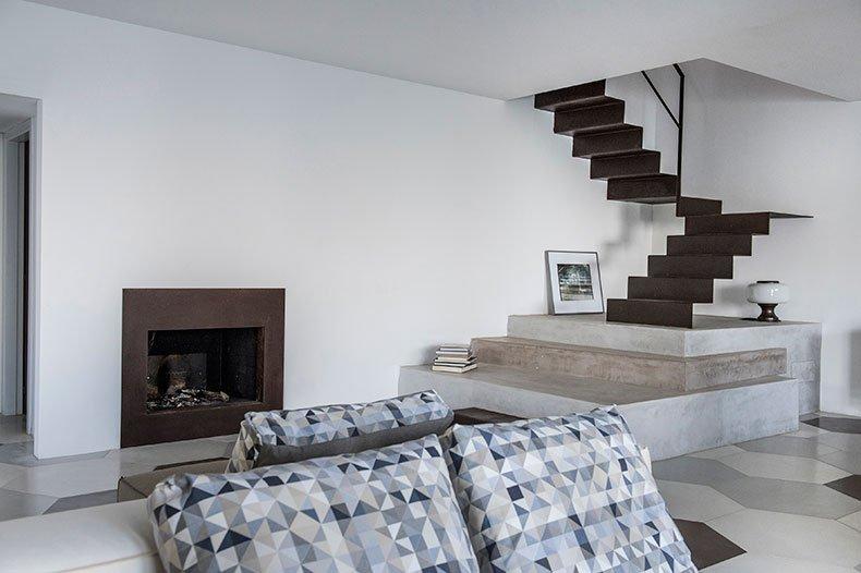 Casa Scoglio living room