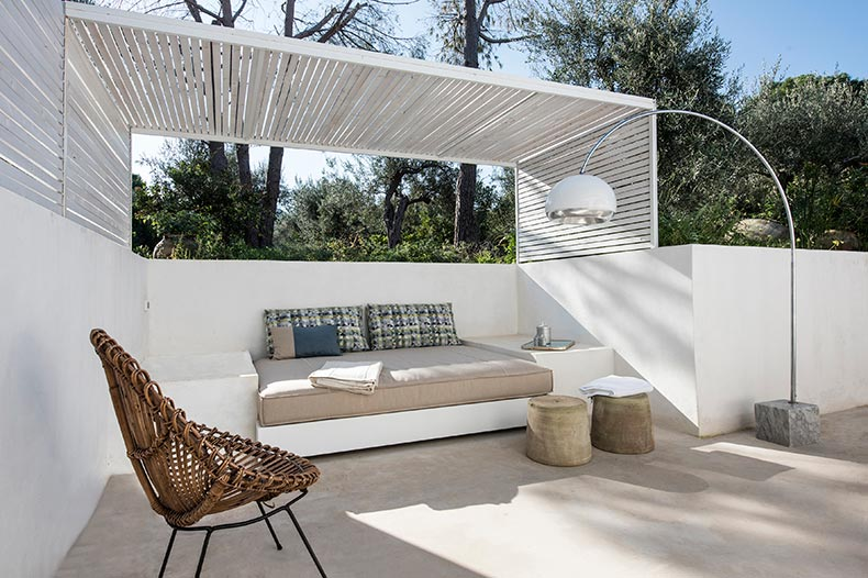 Casa Scoglio patio