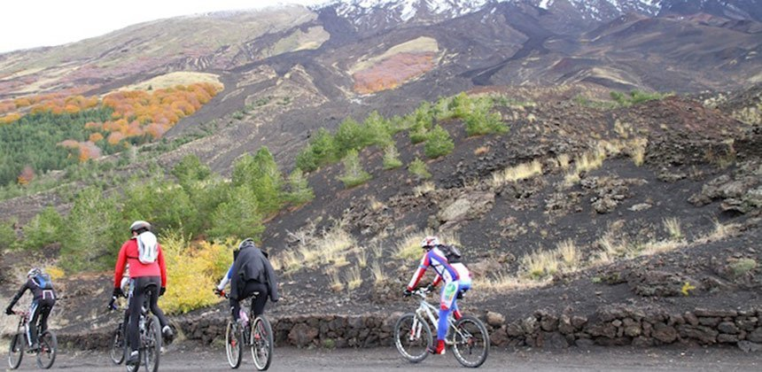 Etna Mountain Bike Tour