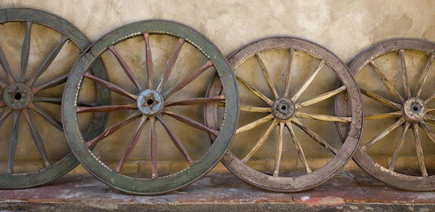 Sicilian Cart Wheel