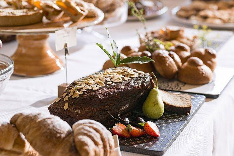 Amazing breakfast at the Feudi del Pisciotto in Sicily