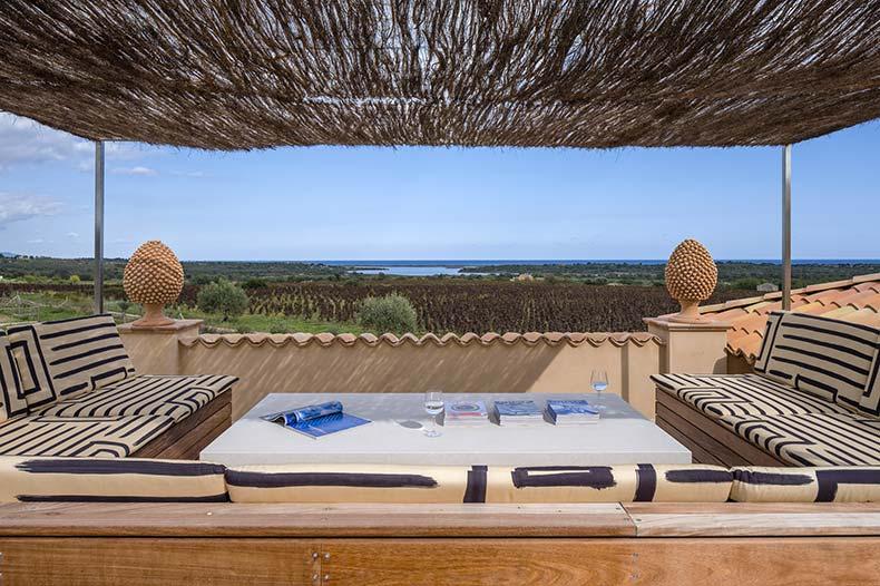 rooftop lounge villa degli aironi