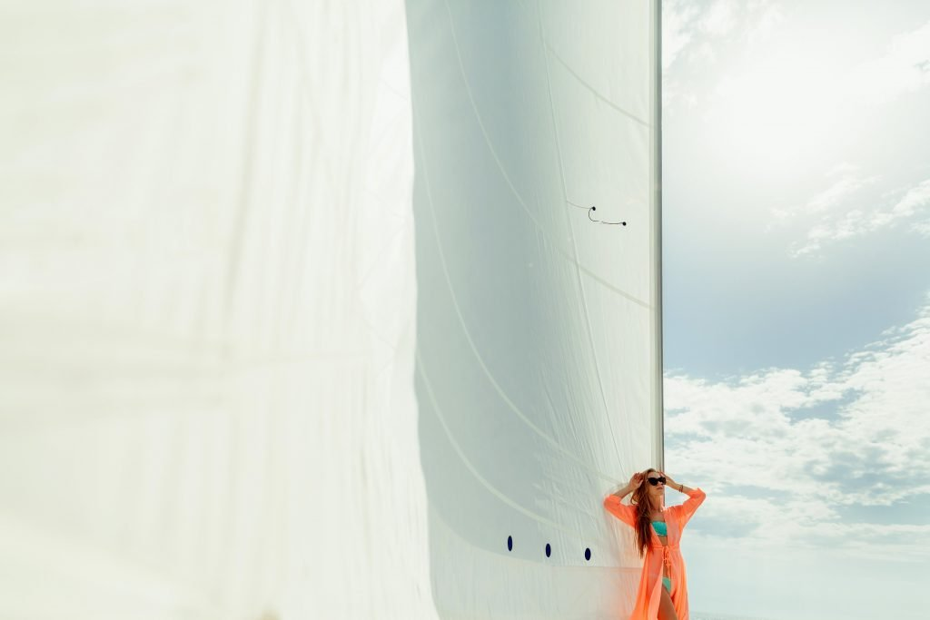 White sails and luxury bespoke traveling in sicily